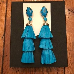 Kendra Scott: Denise Earrings In Aqua Howlite